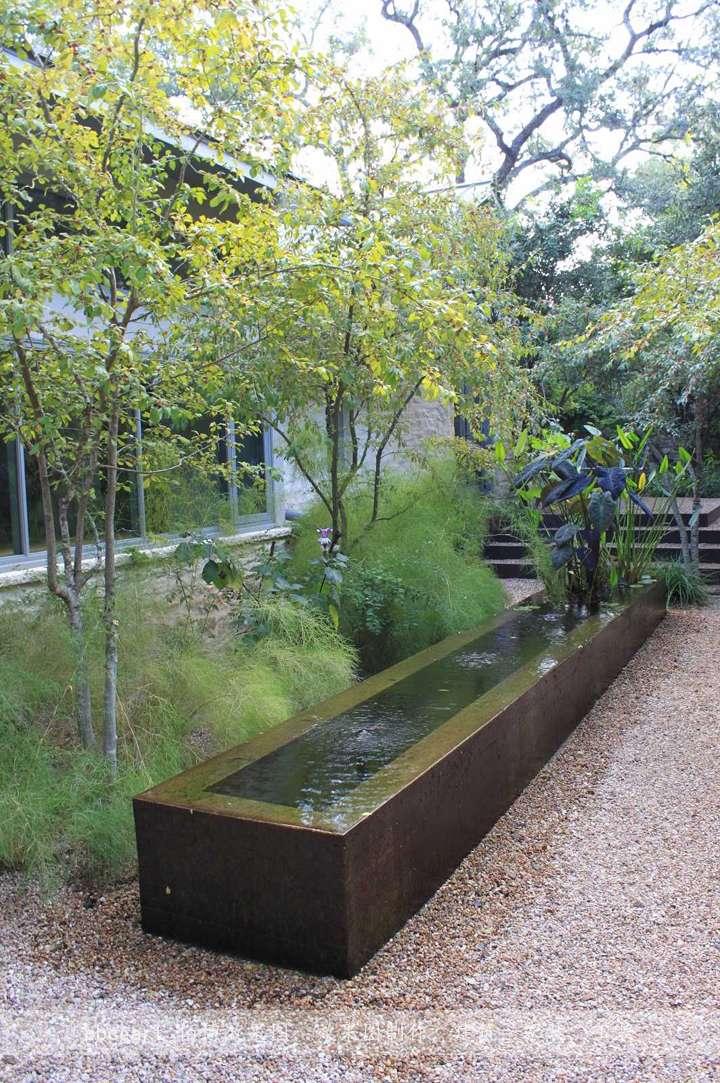 雨水花园庭院的改造图片